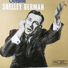 "Shelley Berman Outside Verve MG V 15007 Celeb Record 12"" Album 33 rpm vinyl LP"