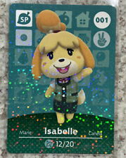 ISABELLE #001 Animal Crossing Series 1 AUTHENTIC Nintento Amiibo Card US VERSION
