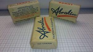 1 Stück ☆ Abralin ABRADOR Rillensauber ☆ Seife von 1940 ☆ ORIGINALVERPACKT! ☆