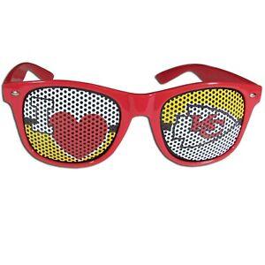 Kansas City Chiefs I Heart KC Shades Sunglasses NFL Licensed