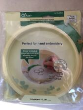"Clover Plastic Embroidery Stitching Hoop 7""  8812"