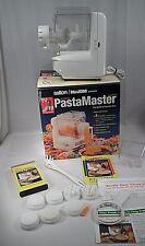 EUC Salton Maxim Electric Pasta Master Maker w/ 7 Dies Instruction Video +++