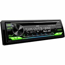JVC KD-T915BTS CD Bluetooth Front Rear USB AUX Amazon Alexa SirusXM Ready