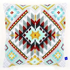 Chunky Cross Stitch Cushion Front Kit Vervaco Ethnical 1 ~  40x40cm by Vervaco