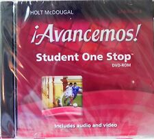 !Advancemos! Student One Stop Level 4 CD-ROM Includes Audio and Video