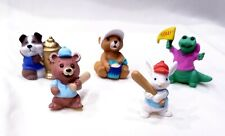 Lot of 5 Hallmark Merry Miniature Everyday Dog, Bears, Alligator & Bunny