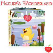 The PICNIC PALS Book 4: Ducky's Pond - Organic Artboard 4th of set 4 -Apple Park