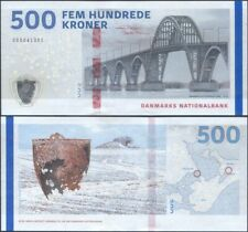 Denmark 500 Kroner 2020 UNC (P-New, B943a) Low S/N, A1 series, New signature