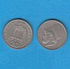 Grèce 20 Drachmes en Cupro-Nickel 1978