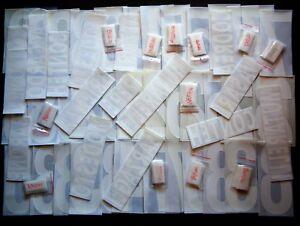 PALERMO KIT NOME+NUMERO UFFICIALI 3rd 2002/2005 OFFICIAL NAMESET FLOCK PL SZ