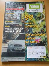RTA  revue technique n° 612 ROVER série 200 essence 1.4 et 1.6