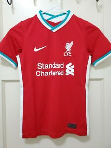 Nike Youth (New)Liverpool FC English Premier League Jersey Red Size (Medium)