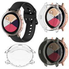 TPU Case Full Cover Screen Protector For Samsung Galaxy Watch Active2 40/44mmHot