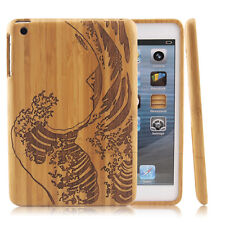 Natural Waves Wood Case Bamboo Cover for A pple i Pad air 2