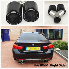 Right Side Car Exhaust Dual TWIN End Tip for BMW 2.5''in 3.5'' out M performance