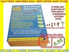 Brine Shrimp Hatcher Incubator / Aquarium Hatchery / Artemia Eggs Hatchery Kit
