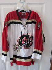 GREEN BAY GAMBLERS Minor League Hockey Jersey Sz men adult small K1  sportswear c0ab79e44