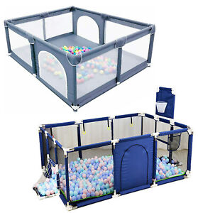Indoor Outdoor Baby Safety Play Yard Activity Center Toddler Portable Playpen