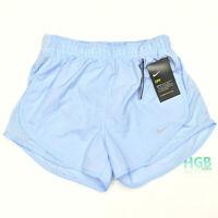 Nike Dry Running Shorts Lined Women's Training Gym Light Blue CI1764-411 NWT