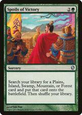 Spoils of Victory Commander 2013 NM Green Uncommon MAGIC MTG CARD ABUGames