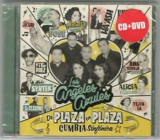 LOS ANGELES AZULES DE PLAZA EN PLAZA CUMBIA SINFONICA SEALED CD + DVD SET NEW