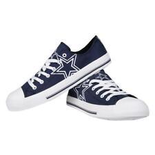Dallas Cowboys NFL Men's Low Top Big Logo Canvas Shoes FREE SHIP