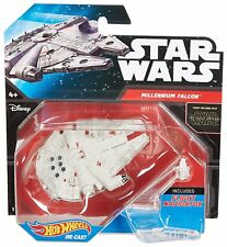 STAR WARS HOT WHEELS Millennium Falcon & Flight Navigator Diecast Toy NEW