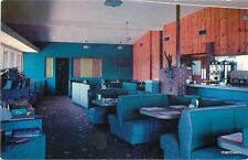 1950s Interior Winnie Vee Restaurant Yulee Florida Price postcard 16-4