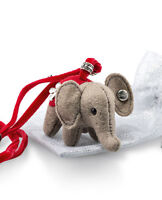 Steiff 'Little Elephant' Necklace collectable felt in bag - EAN 605161