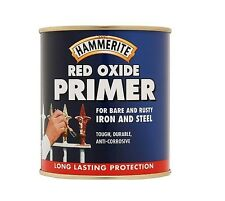 * Pack of 2 * Hammerite Red Oxide Primer [5092843] Rusty Iron and Steel 250ml