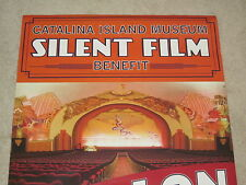 CATALINA ISLAND POSTER CASINO THEATRE AVALON SILENT FILM LARGE POSTER 39 x 26