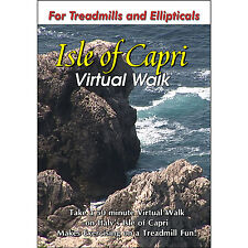 CAPRI, ITALY TREADMILL WALK DVD SCENERY VIDEO: LOW IMPACT, FUN EXERCISE FITNESS