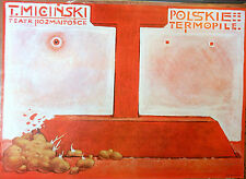 REDUCED AGAIN! Original Vintage Polish Poster/F.Starowieyski of Thermopylae play