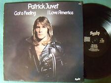 PATRICK JUVET : I got a feeling  I LOVE AMERICA – LP BARCLAY 1978 - comme NEUF