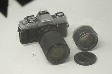 Minolta  X-500 X500 35mm Film SLR with 35-135mm & 58mm 1.4 Lenses