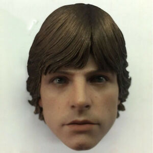 "1/6 Scale Star Wars Luke Skywalker Head Sculpt Fit for 12"" Action Figure Body"