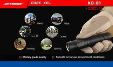 JETbeam KO-01 Cree XP-L 1080lumens Rechargeable Waterproof LED Flashlight