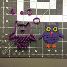 Halloween Owl 100 Cookie Cutter Set