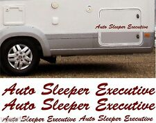 AUTO SLEEPER EXECUTIVE 4 PIECE KIT DECALS STICKERS CHOICE OF COLOURS & SIZES