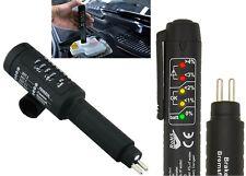 LED Brake Fluid Tester Pen with 5 LED Indicators, Calibrated For DOT3 DOT4 Fluid