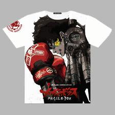 Anime Megalo Box JOE JNK DOG Unisex T-shirt Short Sleeves Harajuku Tops TEE#002