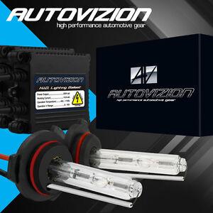 Xenon Slim 55W 9006 HB4 Low Beam HID Conversion HeadLight Lamp Bulbs Kit #10