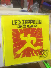 "Led Zeppelin : ""SONG REMAINS""--(PIGEON LIVE SERIES)--MADISON SQUARE GARDEN CD"