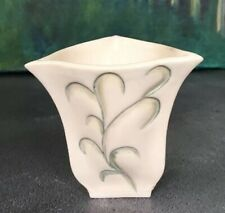 Ceramic Bud Vase Handmade Art Deco Style.