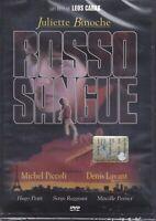 dvd ROSSO SANGUE con Juliette Binoche Hugo Pratt nuovo sigillato 1986