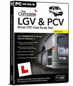 The Complete LGV & PCV Driver CPC Case Study Tests 2021 (Mod 2)