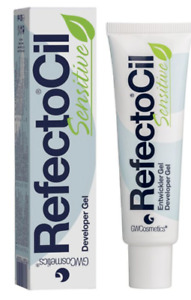 RefectoCil Sensitive Developer Gel for Professional Eyebrow & Eyelash Tint 60ml