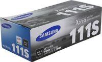 1 x Samsung Black Original OEM Toner Cartridge For MLT-D111S - Next Day Delivery