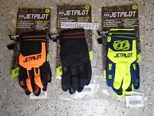 JET-PILOT Matrix Race Glove-s PWC Jet-ski Sea-Doo Blk/org/lime Glove Tech sm-xl