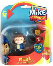 "MIKE THE KNIGHT FIGURES - MIKE THE KNIGHT IN PLAY CLOTHES - 3"" TALL - BRAND NEW!"